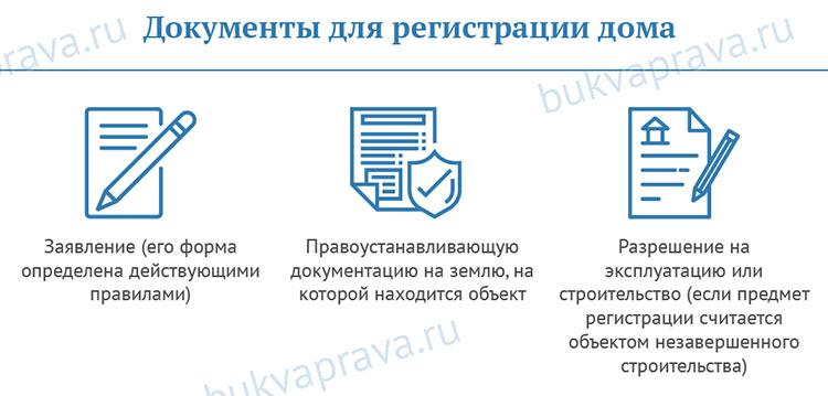 документы для регистрации дома по дачной амнистии