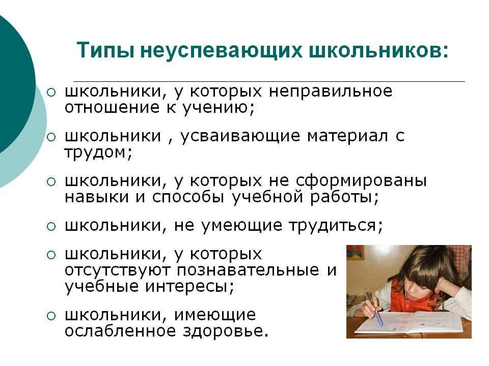 tipy-neuspevayushchih-shkolnikov