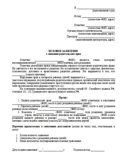 isk-o-lishenii-roditelskih-prav