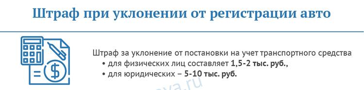 shtraf-pri-uklonenii-ot-registratsii-avto