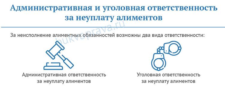 administrativnaya-i-ugolovnaya-otvetstvennost-za-neuplatu-alimentov