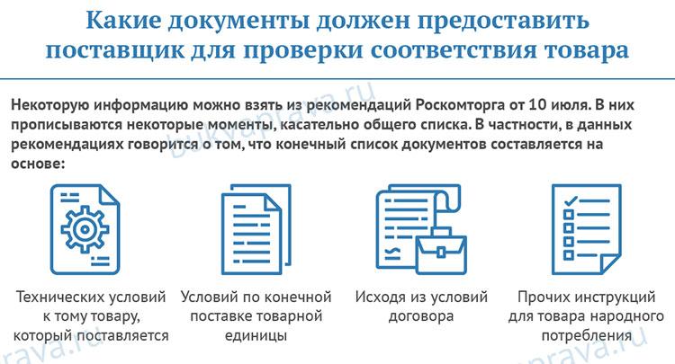 kakie-dokumenty-dolzhen-predostavit-postavshchik-dlya-proverki-sootvetstviya-tovara