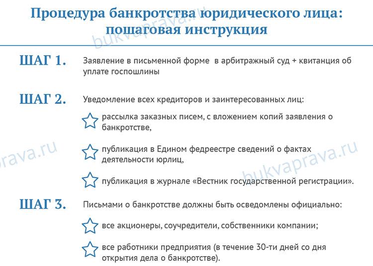 procedura-bankrotstva-yuridicheskogo-lica-poshagovaya-instrukciya